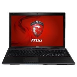 "MSI GE60 0NC (Core i5 3210M 2500 Mhz/15.6""/1366x768/4096Mb/500Gb/DVD-RW/NVIDIA GeForce GT 650M/Wi-Fi/Bluetooth/DOS)"