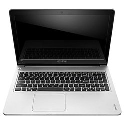 "ноутбук lenovo ideapad u510 59360055 (core i3 3227u 1900 mhz, 15.6"", 1366x768, 4096mb, 524gb, dvd-rw, nvidia geforce gt 625m, wi-fi, bluetooth, win 8 64) (серый)"