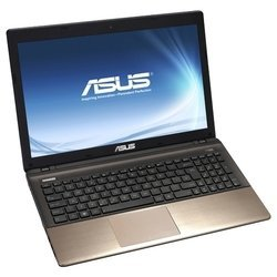 "asus k55vd (core i3 3120m 2500 mhz/15.6""/1366x768/4096mb/500gb/dvd-rw/nvidia geforce gt 610m/wi-fi/bluetooth/dos)"