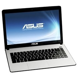"asus x401a (celeron b830 1800 mhz/14""/1366x768/4096mb/500gb/dvd нет/intel hd graphics 2000/wi-fi/bluetooth/dos)"