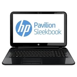 "hp pavilion sleekbook 15-b155sr (core i3 3227u 1900 mhz/15.6""/1366x768/4096mb/320gb/dvd нет/wi-fi/bluetooth/win 8 64)"