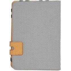 Универсальный чехол-подставка для планшета 10.1 (Defender Favo uni) (серый-оранжевый)