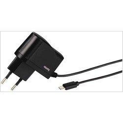 Универсальное зарядное устройство microUSB (Hama H-93787) (черный)