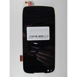 Дисплей для Fly EVO Chiс 1 IQ4405 с тачскрином (69985) (черный)