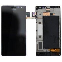 Дисплей для Nokia Lumia 730, 735 с тачскрином (65804) (черный)