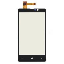 Тачскрин для Nokia Lumia 820 с установочной площадкой (53076) (черный)