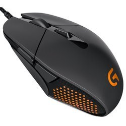 logitech gaming mouse g303 daedalus apex performance (910-004382) (черный)