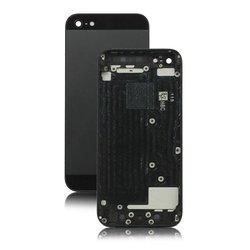 Корпус для Apple iPhone 5 c боковыми клавишами (53058) (черный, серый)