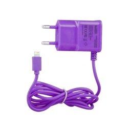 Сетевое зарядное устройство для Apple 8-pin Lightning (0L-00000691) (фиолетовый)