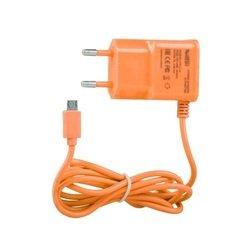 Сетевое зарядное устройство microUSB (0L-00000680) (оранжевый)