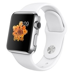 Apple Watch 38mm with Sport Band (белый) :