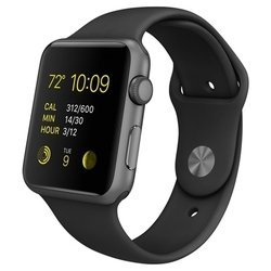 Apple Watch Sport 38mm with Sport Band (черный) :