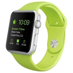Apple Watch Sport 42mm with Sport Band (зеленый) :