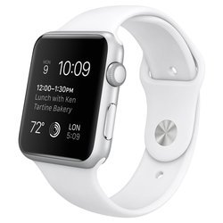 Apple Watch Sport 42mm with Sport Band (белый) :