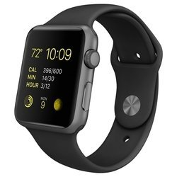 Apple Watch Sport 42mm with Sport Band (черный) :