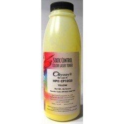 Тонер для Canon i-SENSYS LBP7018C, HP Color LaserJet Pro CP1025, CP1025nw (Static Control HP1025-26B-YOS) (желтый) (26 гр)