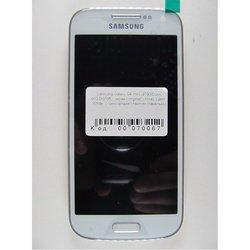 Дисплей с тачскрином для Samsung Galaxy S4 mini i9190, i9192, i9195 с панелью (70067) (белый)