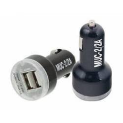 Автомобильное зарядное устройство 2xUSB (Mystery MUC-2/2A) (черный)