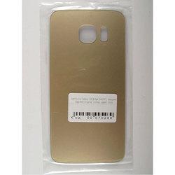 Задняя крышка для Samsung Galaxy S6 Edge G925F (70288) (золотистый)