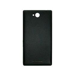 Корпус для Sony Xperia C C2305 с боковыми клавишами (62805) (черный)