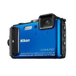 Nikon Coolpix AW130 (синий)