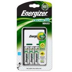 Зарядное устройство для аккумуляторов ААА, АА (Energizer 638582) (на 4 шт., 2000mAh, серый)