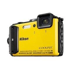 Nikon Coolpix AW130 (желтый)