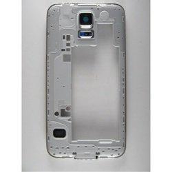 Средняя часть корпуса для Samsung Galaxy S5 G900F с боковыми клавишами и окном камеры (70062) (черный)