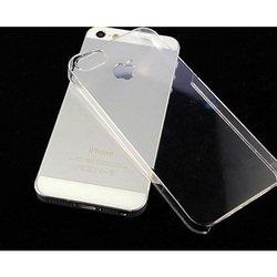 Силиконовый чехол-накладка для Apple iPhone 5, 5S, SE (iBox Crystal YT000007224) (прозрачный)