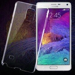 Силиконовый чехол-накладка для Samsung Galaxy Note 4 N910 (iBox Crystal YT000007071) (прозрачный)