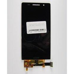 Дисплей для Huawei Ascend P6 с тачскрином (66070) (черный)