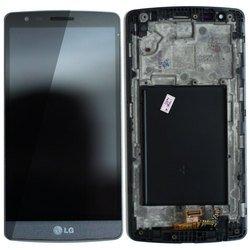 """Дисплей для LG G3 S mini D724 5"""" с тачскрином в рамке (70349) (серый)"""