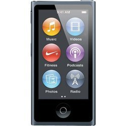 Apple iPod Nano 7 16Gb Slate MD481 (черный)