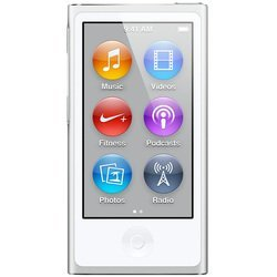 Apple iPod Nano 7 16Gb Silver MD480 (серебристый) :