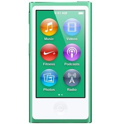 Apple iPod Nano 7 16Gb Green MD478 (зеленый) :