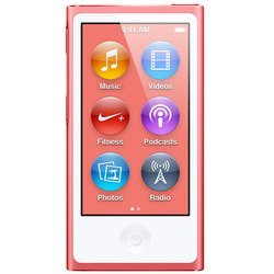 apple ipod nano 7 16gb pink md475 (розовый) :