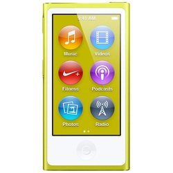 Apple iPod Nano 7 16Gb Yellow MD476 (желтый) :