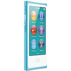 apple ipod nano 7 16gb blue md477 (голубой) :