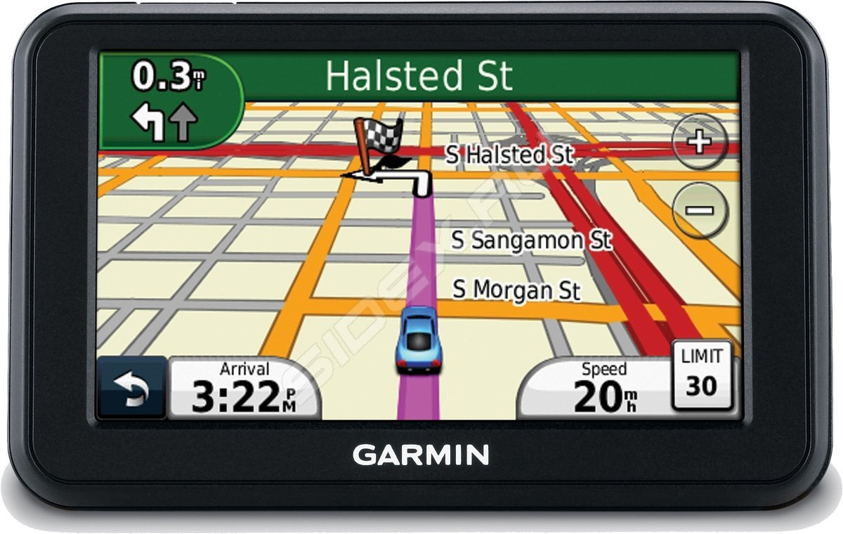 A garmin gtm 25 traffic receiver accompanied our nüvi 1410 test model, enabling the gps to pick up live traffic