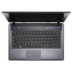 "ноутбук lenovo ideapad z380-b9704g500b 59-337236 (intel pentium dual-core b970, 2300 мгц, 4096mb, 500gb, intel hd graphics, 13.3"", dvd-rw, wi-fi, bluetooth, cam, windows 7 home basic)"