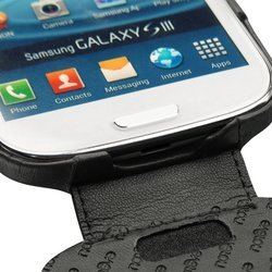 ����� ��� samsung galaxy s3 i9300 noreve leather case 21144t1 black (������)
