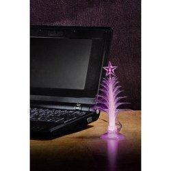 Новогодняя Елочка на стол, светится разными цветами (USB)