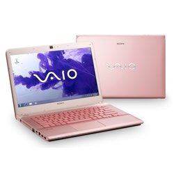 "sony vaio sv-s1312e3r/p (core i3 3110m 2400 mhz, 13.3"", 1366x768, 4096mb, 500gb, intel hd graphics 4000, dvd-rw, wi-fi, bluetooth, win 8 64) розовый"