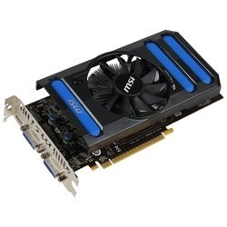 MSI GeForce GTX 650 Ti N650TI-1GD5/OC (954Mhz, PCI-E 3.0, 1024Mb, 5400Mhz, 128 bit, 2xDVI, Mini-HDMI, HDCP)