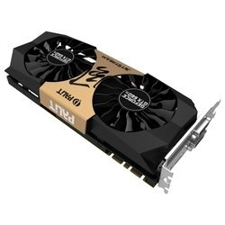 Видеокарта Palit GeForce GTX 660 Ti JETSTREAM (1006Mhz, PCI-E 3.0, 2048Mb, 6108Mhz, 192 bit, 2xDVI, HDMI, HDCP) RTL