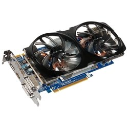 Видеокарта GIGABYTE GeForce GTX 660 Ti 1032Mhz, PCI-E 3.0, 2048Mb, 6008Mhz, 192 bit, 2xDVI, HDMI, HDCP RTL