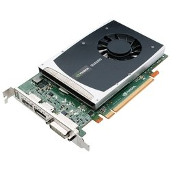 Видеокарта PNY Quadro 2000 PNY VCQ2000-PB (625Mhz, PCI-E 2.0, 1024Mb, 2600Mhz, 128 bit, DVI)