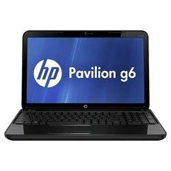 "hp pavilion g6-2318sr (a10 4600m 2300 mhz/15.6""/1366x768/6144mb/750gb/dvd-rw/wi-fi/bluetooth/win 8 64)"