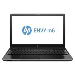 "hp envy m6-1102sr (a6 4400m 2700 mhz/15.6""/1366x768/6144mb/750gb/dvd-rw/wi-fi/bluetooth/win 8 64)"