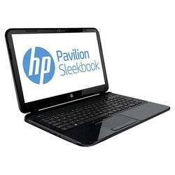 "hp pavilion sleekbook 15-b079er (core i3 3217u 1800 mhz/15.6""/1366x768/4096mb/500gb/dvd нет/wi-fi/bluetooth/dos)"